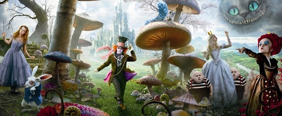 Alice in Wonderland Johnny Depp